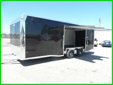 24' EZ hauler Aluminum enclosed toy car hauler trailer cargo motorcycle aluma 24