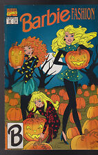 Barbie Fashion #24 Jack O'Lantern Cover Halloween 1992 Marvel Comics