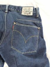 LEVIS ENGINEERED June 9 1999 dark washed twisted straight leg jeans 33x31