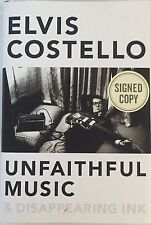 Elvis Costello Signed Autographed Book Unfaithful Music with Proof