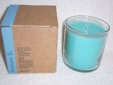 Partylite TROPICAL WATERS GLOLITE SCENTED Jar Candle NIB