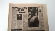 MIKE OLDFIELD 'Froggy' single release 1974  UK ARTICLE / clipping