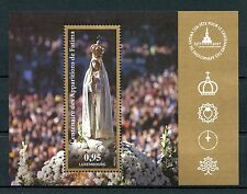 Luxembourg 2017 MNH Miracle of Fatima 100 Years 1v M/S Religion Stamps