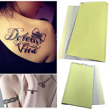 10 Sheets Tattoo Thermal Carbon Spirit Stencil Transfer Copier Paper Tracing Kit