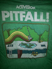 NWT activision PITFALL atari 2600 size SMALL (S) green graphic T-SHIRT retro NEW