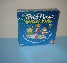 New 2006 Parker Brothers Trivial Pursuit for Kids DVD Game  Head to Head Fun