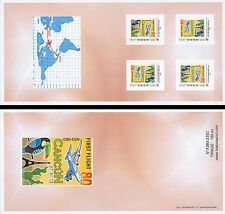 "J Collector Booklet Perso stamps ""A380 Air France, 1st Flight Paris-Cancun"" 2013"