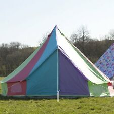 Boutique Camping 7m Rainbow Bell Tent With Zipped in Ground Sheet