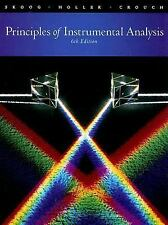 Principles of Instrumental Analysis by Skoog, Holler 6th Intl Softcover Ed Same