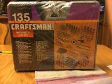 Tool Set Mechanic Craftsman Standard Metric Tools Case 135 Piece Kit