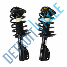 Both (2) NEW Front Left & Right Complete Strut W/ Spring & Mounts Quick Assembly