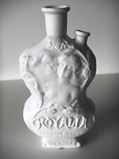 FLACON A PARFUM EN PORCELAINE ANCIEN 19e - MARQUE ROYALIA EXTRAIT TRIPLE -