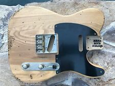 REAL LIFE RELICS AGED CUSTOM NATURAL TELE TELECASTER BODY