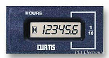 CURTIS (INSTRUMENTS)   18400143   HOUR METER, 701D, 12-48V