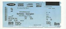 Orig.Ticket   EM Qualifikation  08.09.2002   SCHWEIZ - GEORGIEN  !!  SELTEN