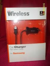 Just Wireless Car Charger High Speed Charge Fits Samsung - 1 amp - New