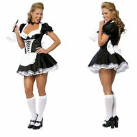 Bavarian Oktoberfes Beer Maid Wench Costume Lolita Outfit Cosplay Fancy Dress