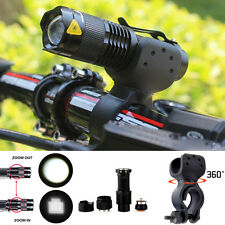 1200lm Cree Q5 LED Cycling Bike Bicycle Head Front Light Flashlight + 360° Mount