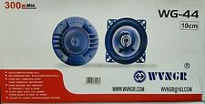 KIT CASSE AUTO COPPIA ALTOPARLANTI SPEAKER 300 WATT 10 CM wg44