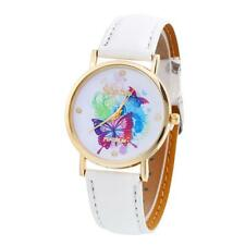 Geneva Women Watches Butterfly Ladies Vogue Quartz Dress Wrist Watch Xmas White