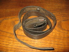 Swiss leather k31 rifle sling original army 7.5x55 quick detach clip 1939