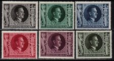 THIRD REICH 1943 mint Hitler's 54th birthday stamp set!