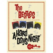 Beattles-A Hard Day's Night Metal Sign Image