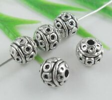 20pcs Tibetan Silver Spacer Beads Findings 8mm  (Lead-free)