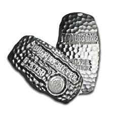 One piece 1 kilo 0.999 Fine Silver Bar Tombstone Silver Nugget Lot 9647