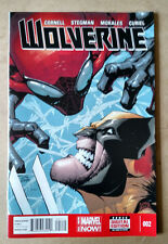WOLVERINE #2 FIRST PRINT MARVEL COMICS (2014)