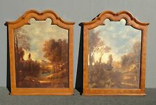 Pair of ETHAN ALLEN French Country Setting Landscape Wall Decor Prints PICTURES
