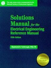 Solutions Manual: For the Electrical Engineering Reference Manual
