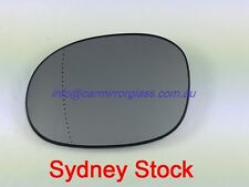 LEFT PASSENGER SIDE PEUGEOT 206 206cc 10/1999 - 5/2007 MIRROR GLASS WITH BASE