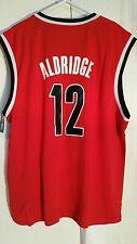 Adidas NBA Jersey Trailblazers LaMarcus  Aldridge  Red sz L