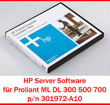 HEWLETT PACKARD HP SOFTWARE PROLIANT ML DL 300 500 700 SERIES 301972-A10 - S6