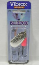 Blue Fox #5 Super Vibrax 7/16 Silver/Hot Pink Treble Troll Fishing Lure 13 grams