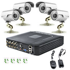 H.264 8CH AHD DVR 1300TVL CCTV Home Security 4X IR Outdoor Night Camera System