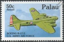 Wwii usaaf boeing B-17/B-17E flying fortress bomber avion timbre (1992 palau)