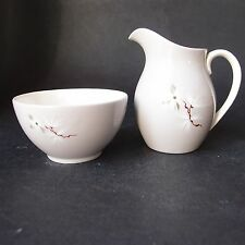 Royal Doulton Frost PINO small sugar bowl & Brocca Latte/Panna-Made in England