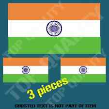 INDIA INDIAN NATIONAL FLAG DECAL STICKER HARD HAT VEHICLE HELMET STICKERS