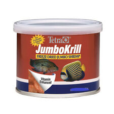 TETRA JUMBO KRILL FREEZE DRIED 1.4 OZ FISH FOOD JUMBO SHRIMP FREE SHIP IN THE US