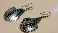 Adina Plastelina Inspired Hook Earrings with Single Black Butterfly Wing*****