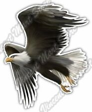 "Bald Eagle Hawk White Head Bird Car Bumper Window Vinyl Sticker Decal 4""X5"""