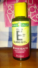 Spring Valley Vitamin E Skin Oil 12,000 I. U. Moisturizer, 2oz