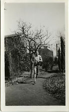 PHOTO ANCIENNE - VINTAGE SNAPSHOT - SPORT COURSE JOGGING HOMME-RUNNING RACE 1934