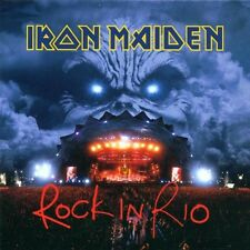 "IRON MAIDEN ""ROCK IN RIO"" 2 CD SPECIAL ENHANCED NEUWARE"