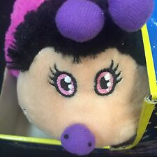 PILLOW PET DREAM LITE PLUSH SNUGGLY SLEEPTIME NIGHT LITE LADY BUG In Pink NEW!!!