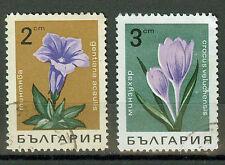 Bulgarien Briefmarken 1968 Blumen Mi.Nr.1792+93