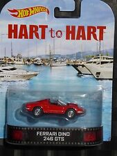 2014 HOTWHEELS - Retro entertainment B - HART TO HART Ferrari Dino 246 GT