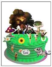 Tinkerbell wafer card cake scene with personalised plaque (uncut)23 pieces